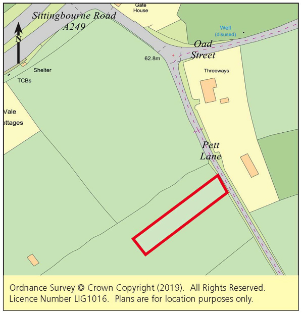 Vacant Land - Swale Area