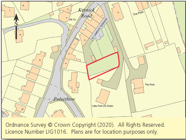 Land with Planning - Penryn and Falmouth