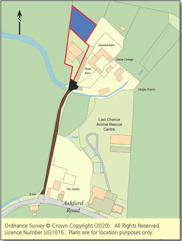 Oast/Barn with Planning - Hythe & Romney Marsh Areas