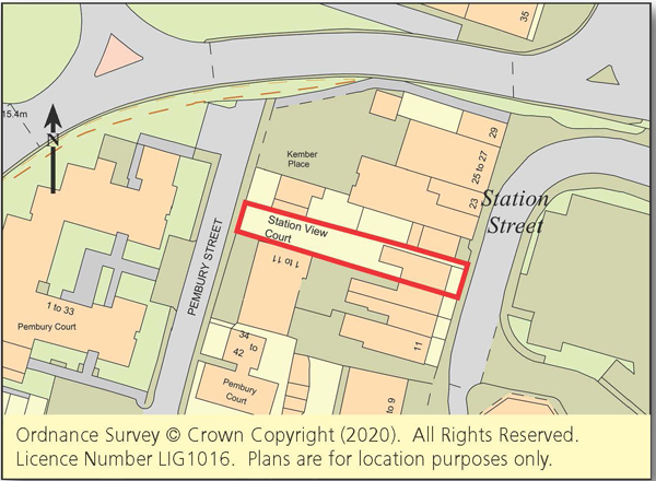 Land with Planning - Swale Area
