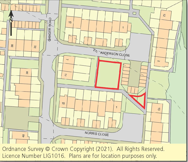 Vacant Land - Totton & Romsey Areas