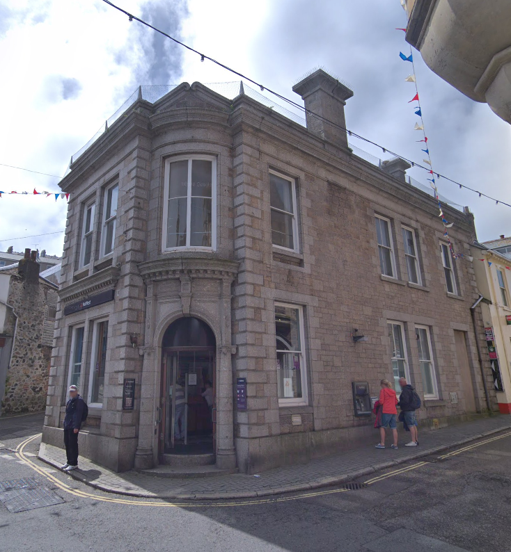 Former NatWest bank, St. Ives, Cornwall
