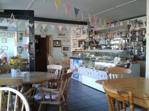 Inside Elham Tea Room