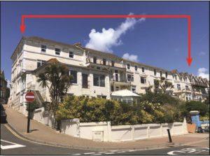 Esplanade Hotel Outline, Isle of Wight
